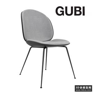 現代甲殼椅子國外3D模型【ID:729325858】