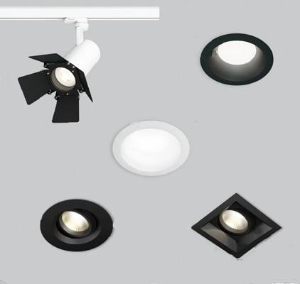 筒灯3D模型