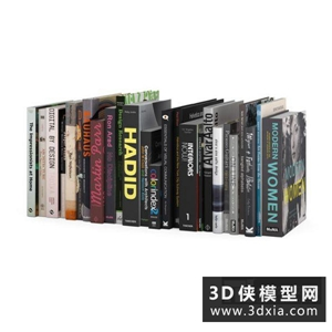 书国外3D模型【ID:929828044】