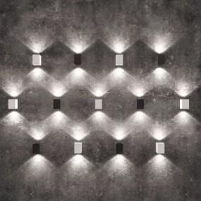 现代金属壁灯3D模型【ID:528453947】