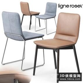 现代椅子国外3D模型【ID:729306875】