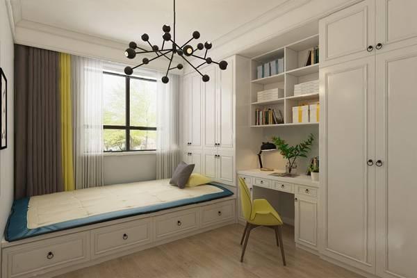 现代卧室3D模型【ID:124895387】