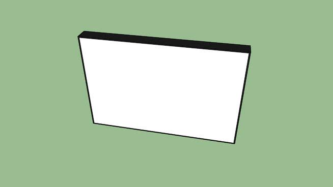 纳米线空白LED显示器SU模型【ID:740313959】