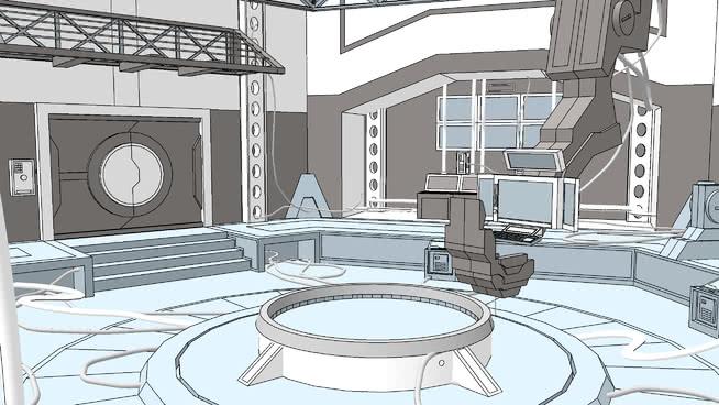代碼Lyoko:實驗室SU模型【ID:838957021】
