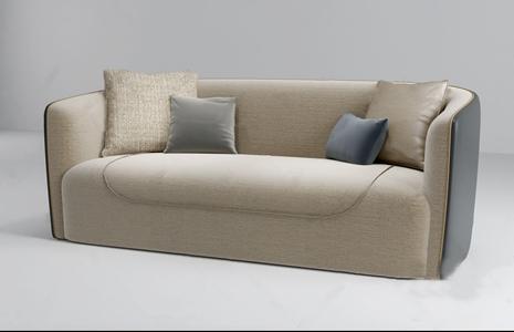 宾利现代沙发3D模型【ID:632398516】