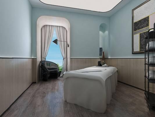 现代美容院3D模型【ID:220605403】