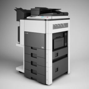 现代复印机打印机3D模型【ID:927823614】