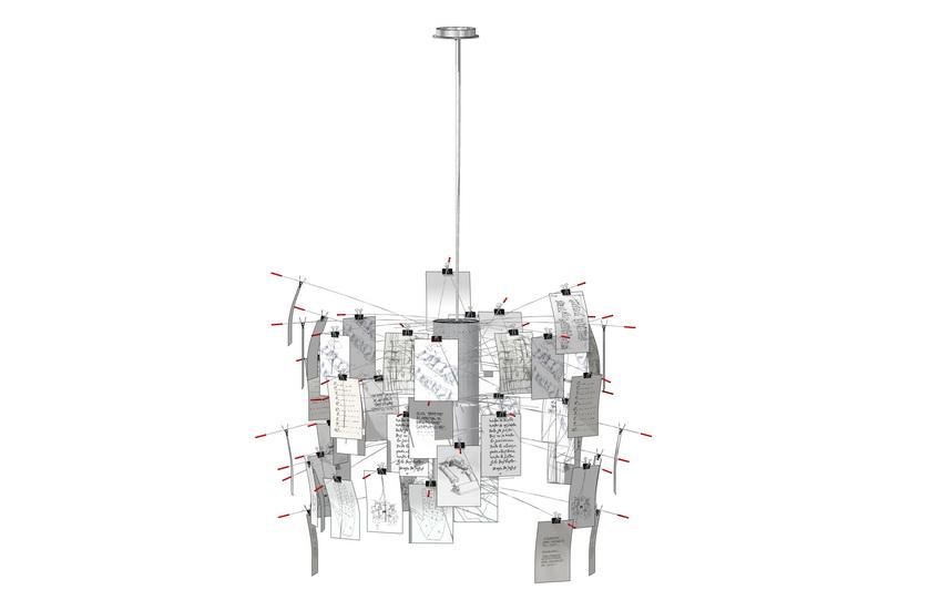 吊燈SU模型【ID:336959896】