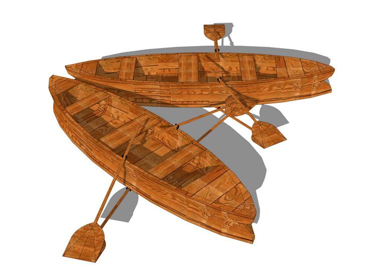 船SU模型【ID:436963714】