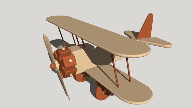 玩具飛機SU模型【ID:640329759】