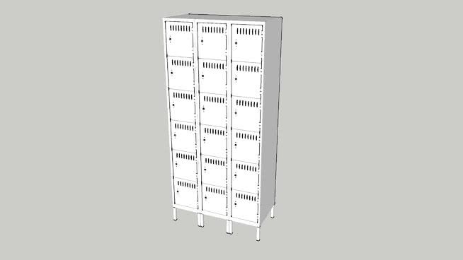 六層儲物柜SU模型【ID:140331384】