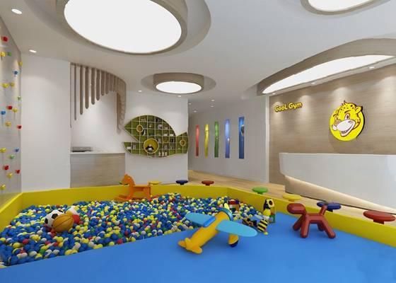幼儿园3D模型【ID:720024012】