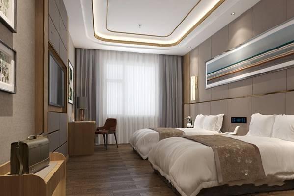 现代客房3D模型【ID:124879883】