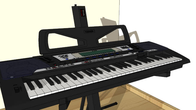 钢琴SU模型【ID:940339170】