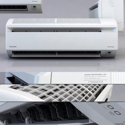 現代掛式空調3D模型【ID:128408469】