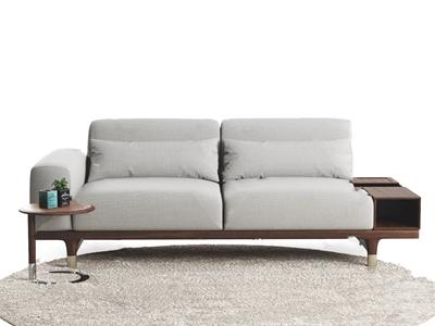 現代雙人沙發3D模型【ID:641632546】
