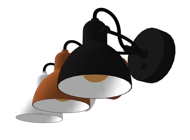 壁燈SU模型【ID:336986904】