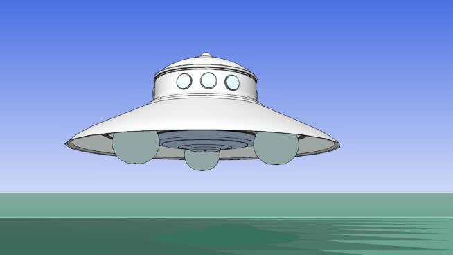 UFO-绔跨劇銇?SU模型【ID:740346495】
