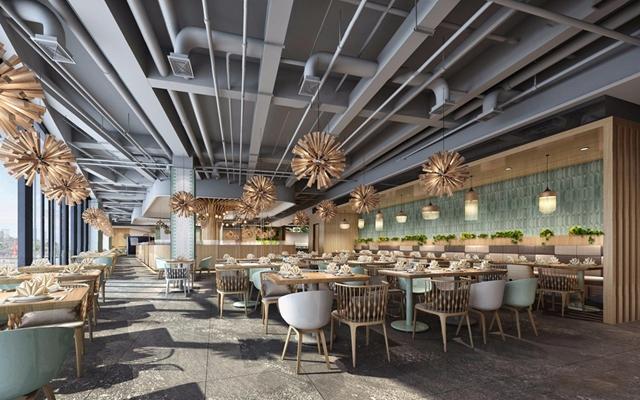 工業餐廳3D模型【ID:728009993】