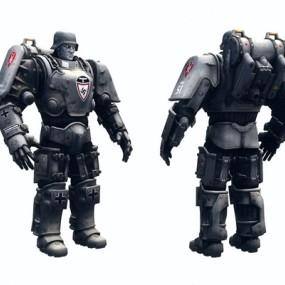 次世代德意志重机甲3D模型【ID:628048561】