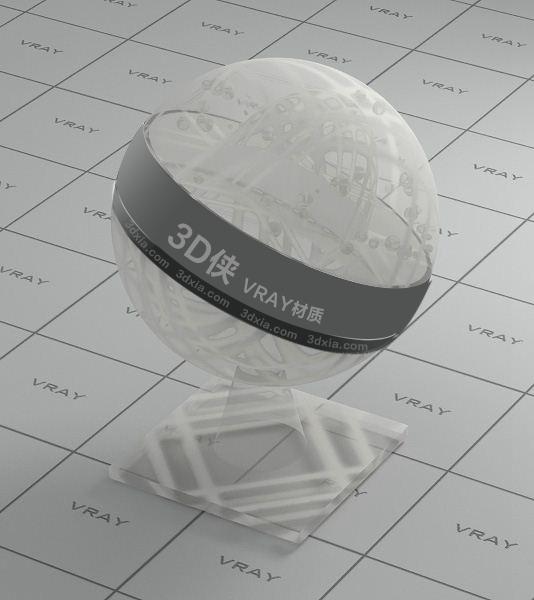 白色窗簾Vray材質【ID:736517420】