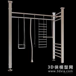 健身器材國外3D模型【ID:129845805】