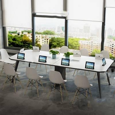 会议桌3D模型【ID:220016378】