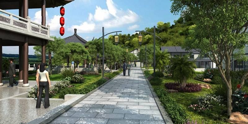 中式园林景观3D模型【ID:824883470】