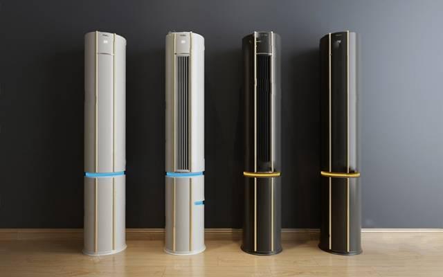 现代空调3D模型【ID:924898318】