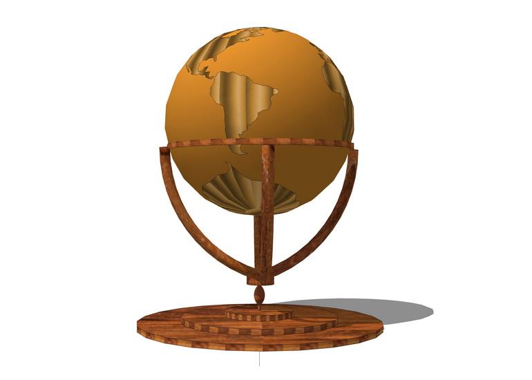 地球儀SU模型【ID:937003079】