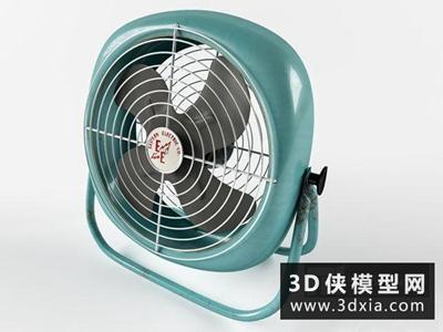 电风扇国外3D模型【ID:129441700】
