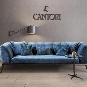 意大利Cantori双人沙发3D模型【ID:928200756】