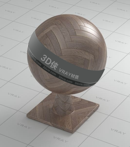 木地板Vray材質【ID:736518378】