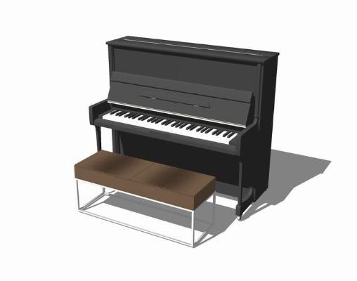 钢琴SU模型【ID:644981164】