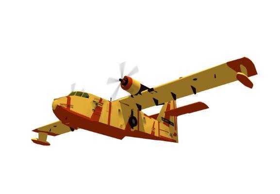 運輸機SU模型【ID:847331168】