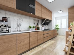 北歐廚房櫥柜3D模型【ID:927821596】