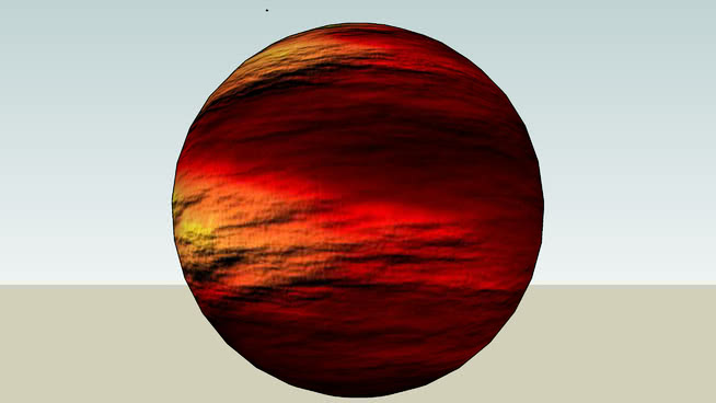 斯巴達星球SU模型【ID:839065094】