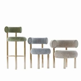 �F代吧椅 3D模型【ID:941979268】