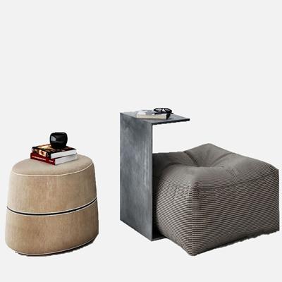 现代沙发凳3D模型【ID:734040604】