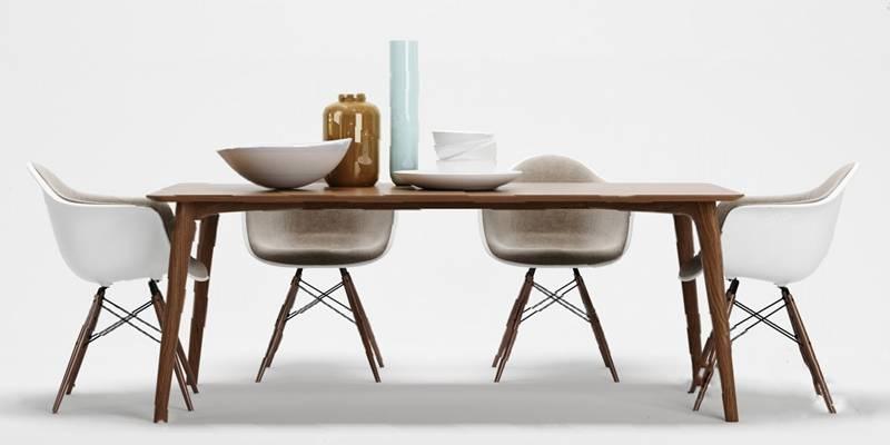 现代餐桌椅组合3D模型【ID:120601887】