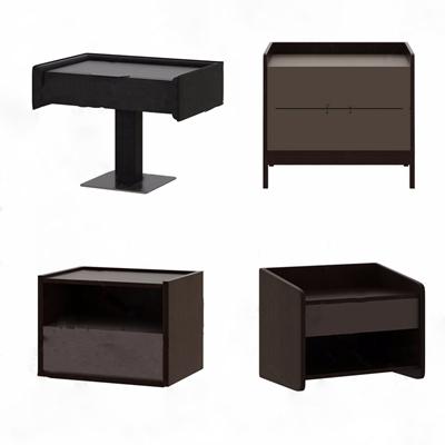 现代床头柜组合3D模型【ID:928353640】