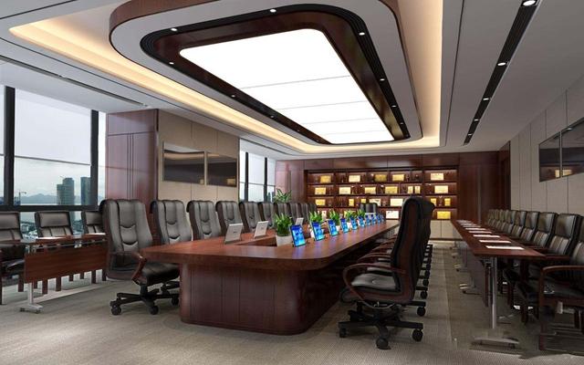 现代会议室3D模型【ID:728090884】