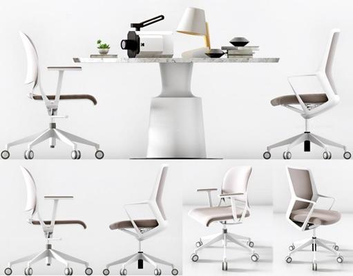 辦公椅組合3D模型【ID:227882920】
