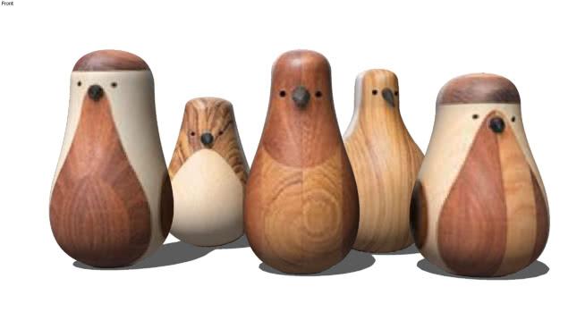 木制玩具SU模型【ID:640387715】