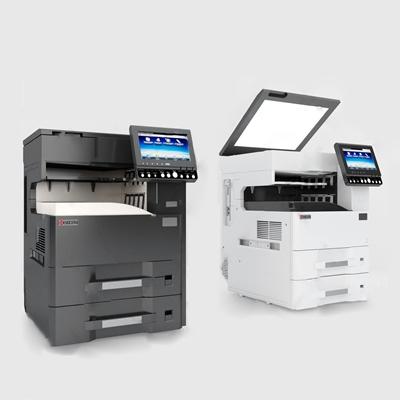 现代复印机3D模型【ID:534042318】