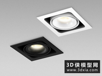 射燈國外3D模型【ID:929532183】