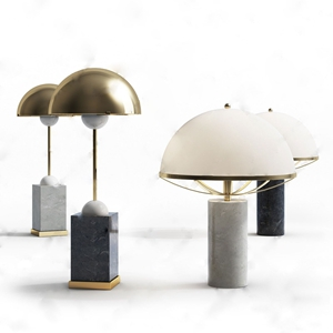 现代台灯3D模型【ID:631435104】