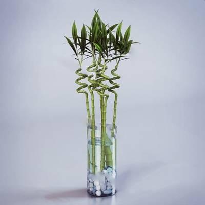 现代花瓶3D模型下载【ID:619603817】