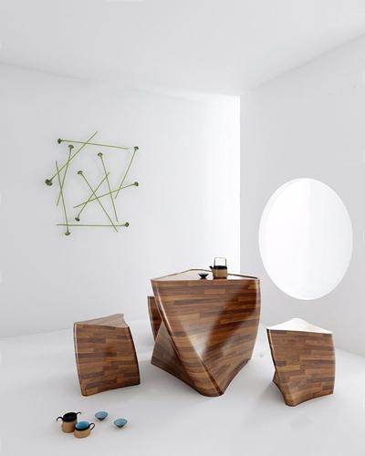 多少现代茶桌椅3D模型【ID:628050072】