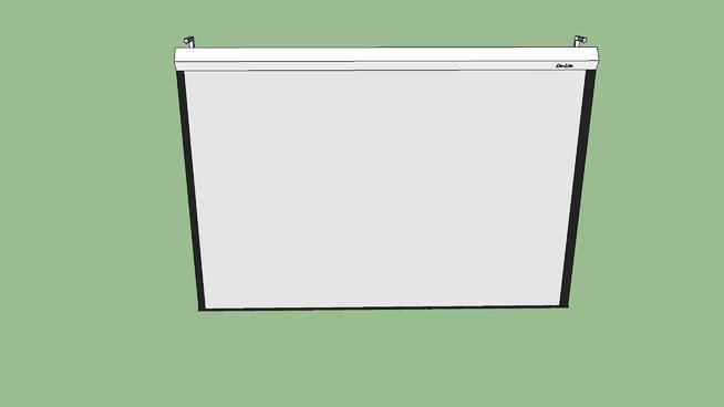 投影儀屏幕-麥克馬斯特SU模型【ID:940405626】